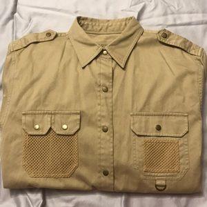 Ralph Lauren Safari Outfitter Womens Large Shirt